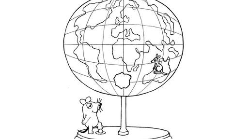 maus mit globus - die sendung mit der maus