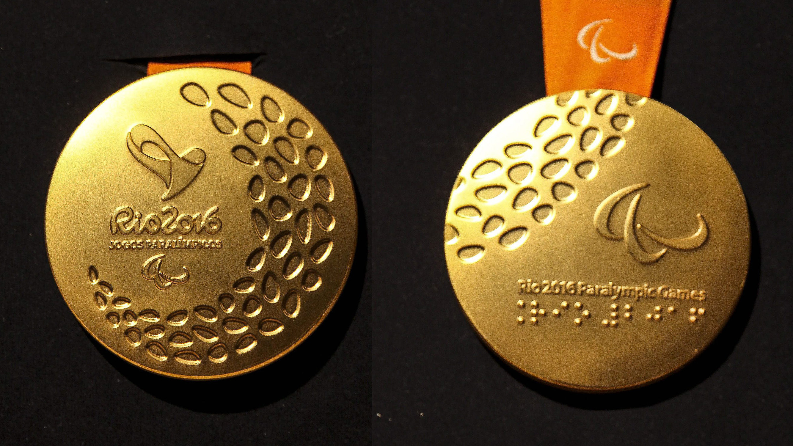 Goldmedaille der Paralympics 2016