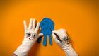 Vorschaubild 'Elefant aus Handabdruck Basteln'