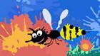 Vorschaubild 'Kleckserei Biene'