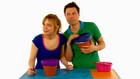 Vorschaubild 'Tanja und André basteln eine Blumentopftrommel'