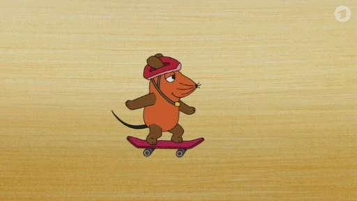 Maus Spiele Skateboard