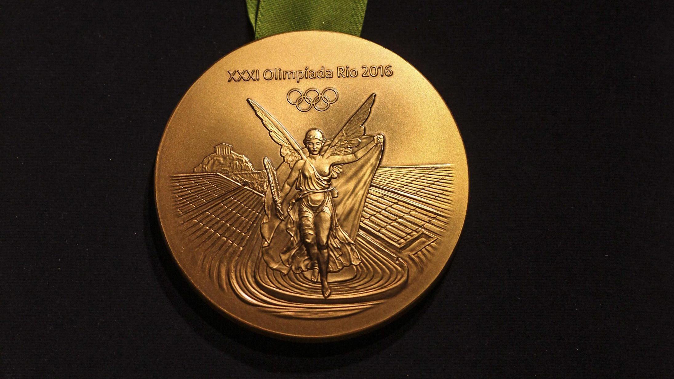 Goldmedaille der Olympischen Spiele 2016