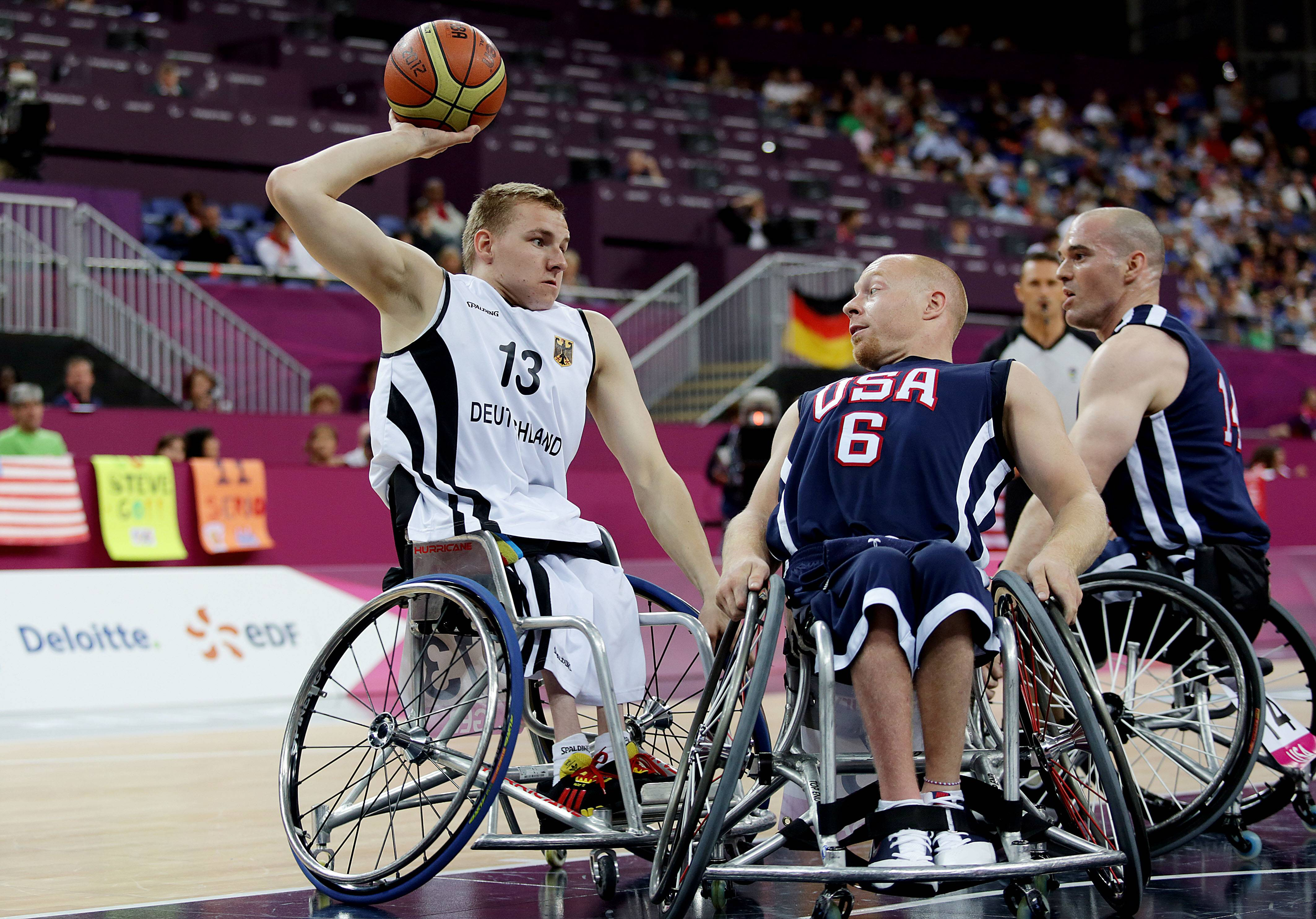 Paralympics: Basketball