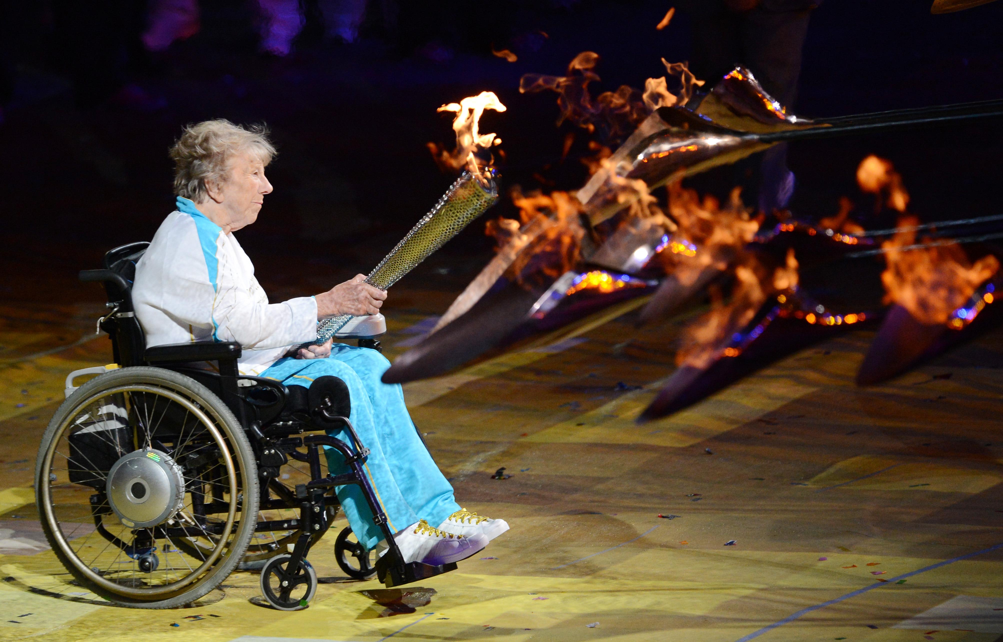 Paralympischer Fackellauf