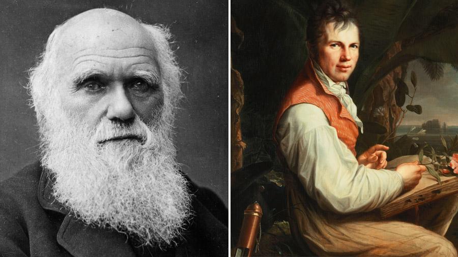 Charles Darwin und Alexander von Humboldt