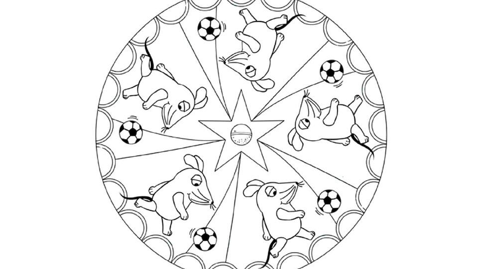 Fußball Mandala Die Seite Mit Der Maus Wdr