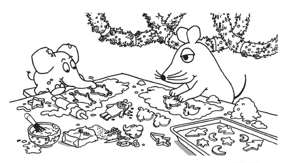 Maus Und Elefant Backen Plätzchen Die Seite Mit Der Maus Wdr