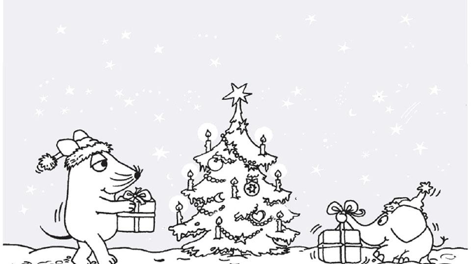 weihnachtsbaum zum ausmalen  blume malen